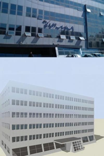 ساختمان گاز تبریز